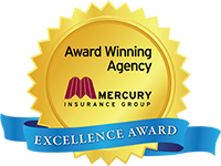 Award Winning Mercury Agency Excellence Award